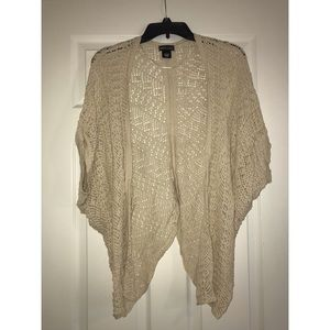 Wet Seal Other - Crocheted kimono style cover up